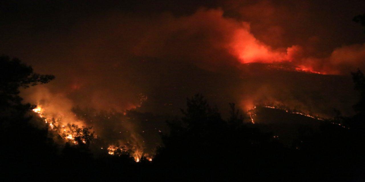 Korkunç Yangın Kundaklama Çıktı